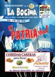La Bocina Nº 335 - Julio 2016
