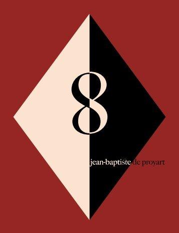 Ce catalogue est visible en ligne sur notre site www.deproyart.com