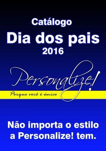 Catálogo Dia dos Pais - 2016