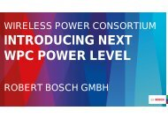 INTRODUCING NEXT WPC POWER LEVEL