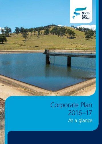 Corporate Plan 2016–17