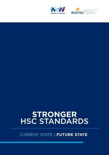 STRONGER HSC STANDARDS