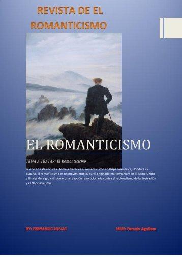 REVISTA DEL ROMANTICISMO