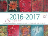 AKIM calendar pages