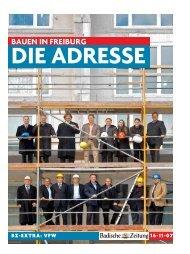 BAUEN IN FREIBURG - Vereinigung Freiburger Wohnungs