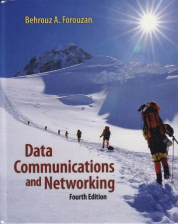 Data Communications & Networking, 4th Edition,Behrouz A. Forouzan (1)