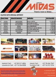 Limpopo Midas Clutch Kit Special