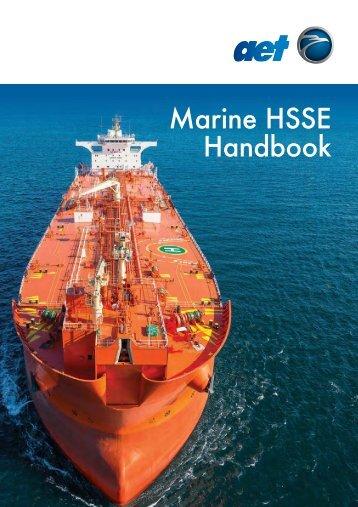 AET Marine HSSE Handbook 2016