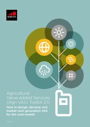Agricultural Value-added Services (Agri VAS) Toolkit 2.0