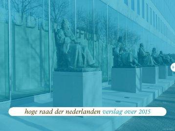 hoge raad der nederlanden verslag over