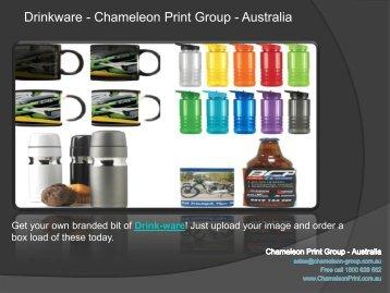 Drinkware - Chameleon Print Group - Australia