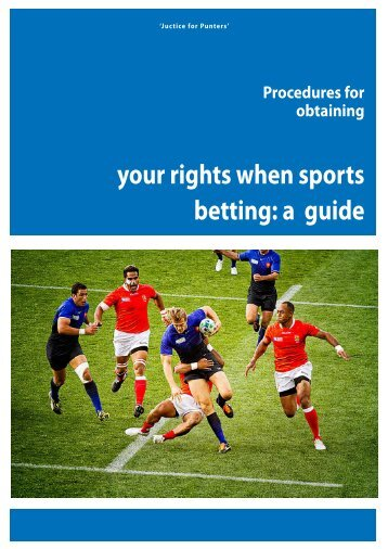 your rights when sports betting a guide