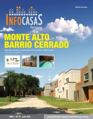 Revista InfoCasas Julio 2016