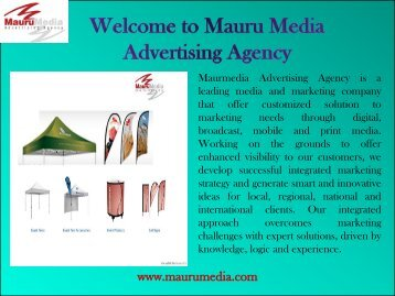 Vinayl Banners in Houston |Mauru Media Advertising Agency