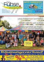Fuhse-Magazin 14/2016