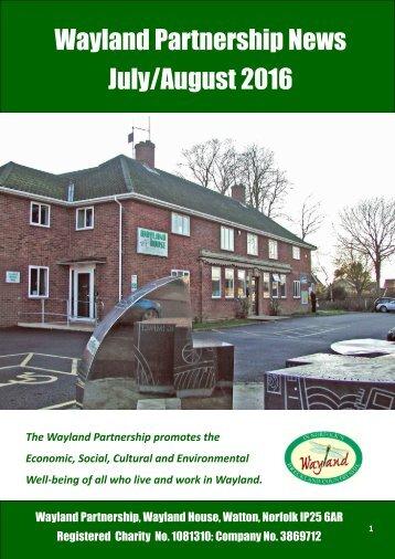 Wayland Partnership News July/August 2016
