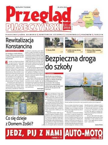 Przegląd Piaseczyński, Wydanie 111