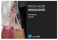 IPSOS MORI HIGHLIGHTS