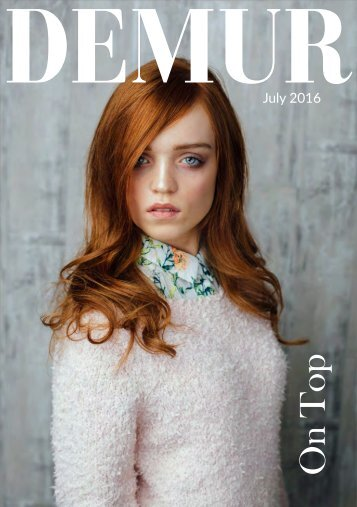 Demur Magazine - July 16 - On Top