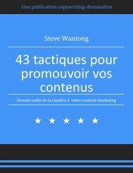 43 idées pour promotion