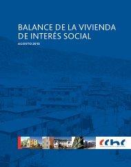 BALANCE DE LA VIVIENDA DE INTERÉS SOCIAL