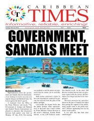 Caribbean Times 54th Issue - Tuesday 19th July 2016