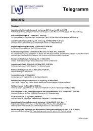 Telegramm März 2012 - Wirtschaftsjunioren Braunschweig