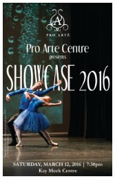 2016 Showcase program