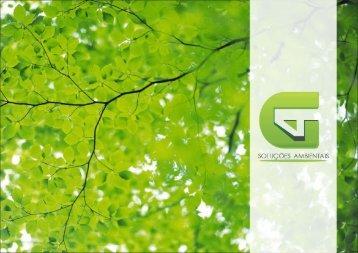 Portfólio G4 Soluções Ambientais