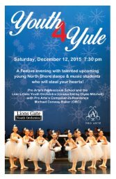 2015 Youth4Yule program