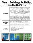 Math Unit - Page 4