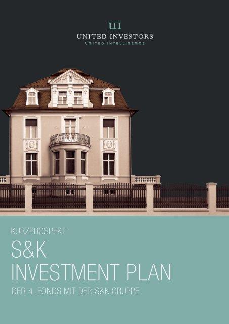 S&K INVESTMENT PLAN