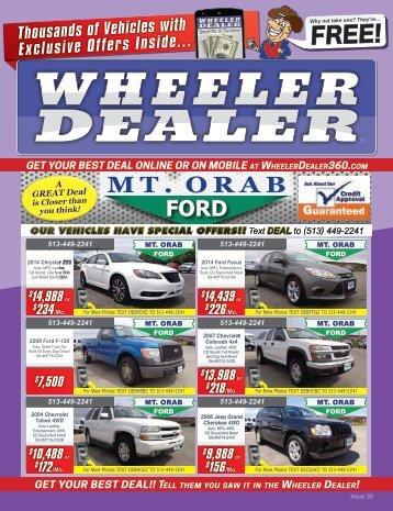 Wheeler Dealer Issue 30, 2016