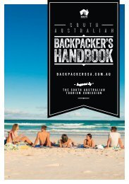 South Australian Backpacker's Handbook