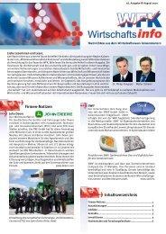 Inhaltsverzeichnis Firmen-Notizen - Stadt Kaiserslautern