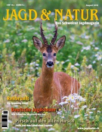 Jagd & Natur Ausgabe August 2016 | Vorschau
