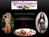 Unlimited Dating Chennai Escorts Services