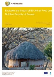 Evolution and Impact of EU Aid for Food and Nutrition Security A Review