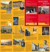 Wagner - Wege in Leipzig - Leipzig: Richard Wagner