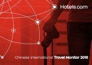 Chinese International Travel Monitor 2016