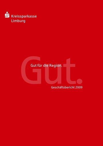 KSK Geschäftsbericht 2009.indd - Kreissparkasse Limburg