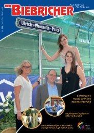 DER BIEBRICHER, Nr. 296, Juli 2016