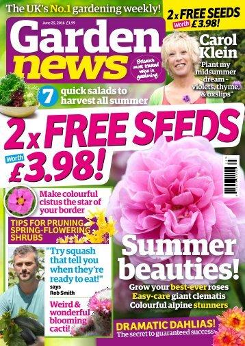 Garden News Mini Mag