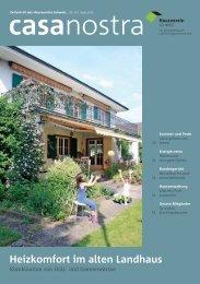 casanostra Nr. 101 herunterladen als pdf - hausverein.ch