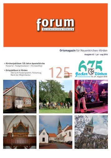 forum 62, jul-aug 2016