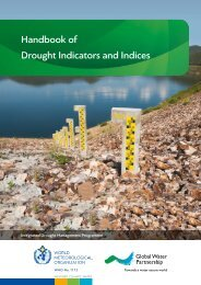 Handbook of Drought Indicators and Indices