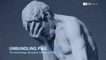 UNBUNDLING P&G
