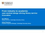 From industry to academia