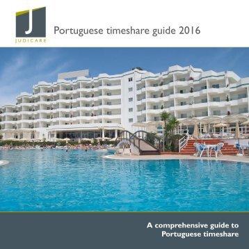 Portuguese timeshare guide 2016