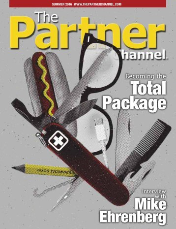 The Partner Channel Magazine Summer 2016